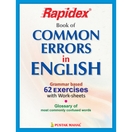 Search - Tag - Rapidex Book of Common Errors In English